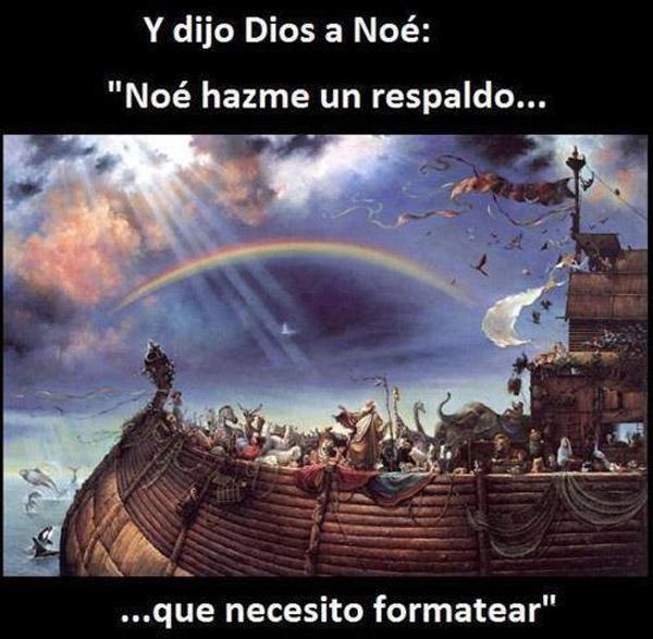 Noé, necesito formatear