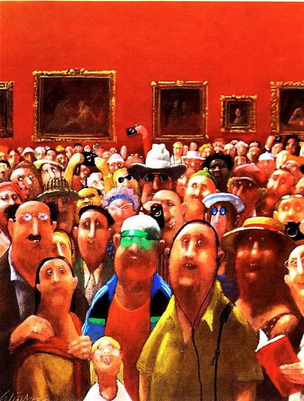 Otro punto de vista de la Mona Lisa