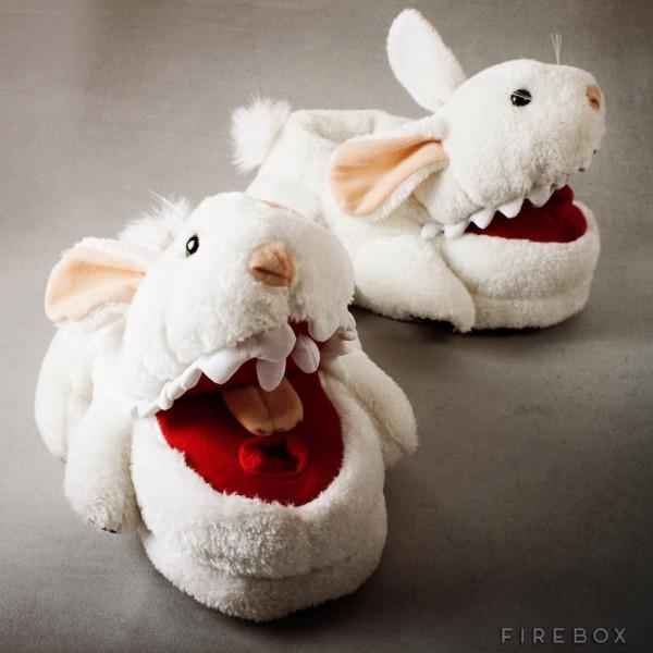 Pantuflas de conejos asesinos