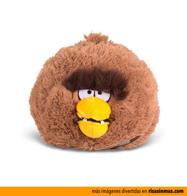 Peluche Angry Birds Chewbacca