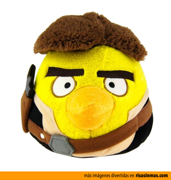 Peluche Angry Birds Han Solo