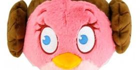Peluche Angry Birds Princesa Leia