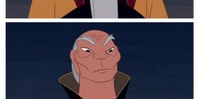 Personajes de Disney sin barba