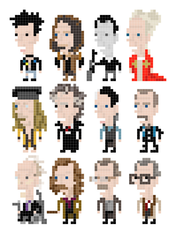 Personajes de Gary Oldman en 8 bits