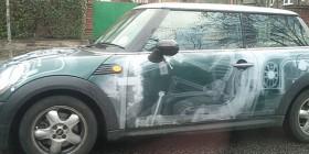 Pintura de coche creativa