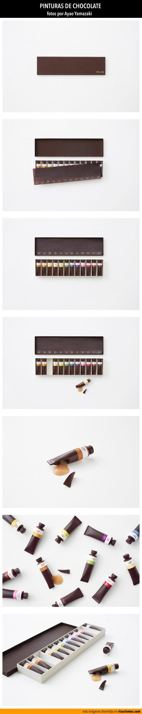 Pinturas de chocolate
