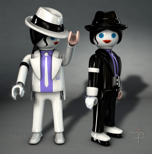Playmobil Michael Jackson