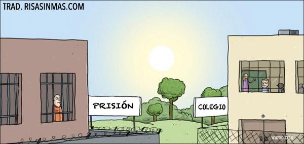 Prisión y colegio