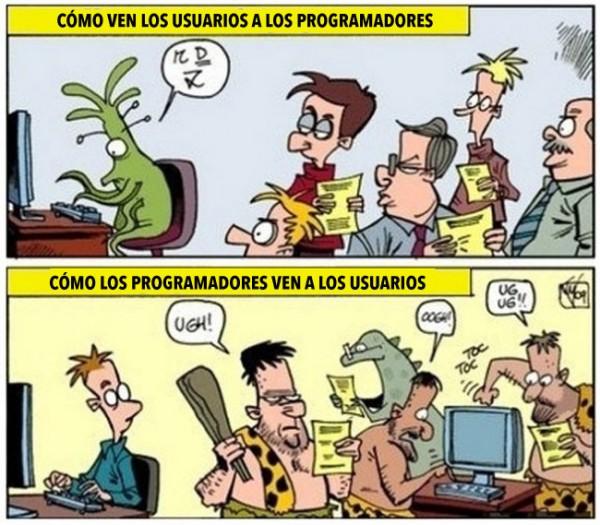 Programadores y usuarios