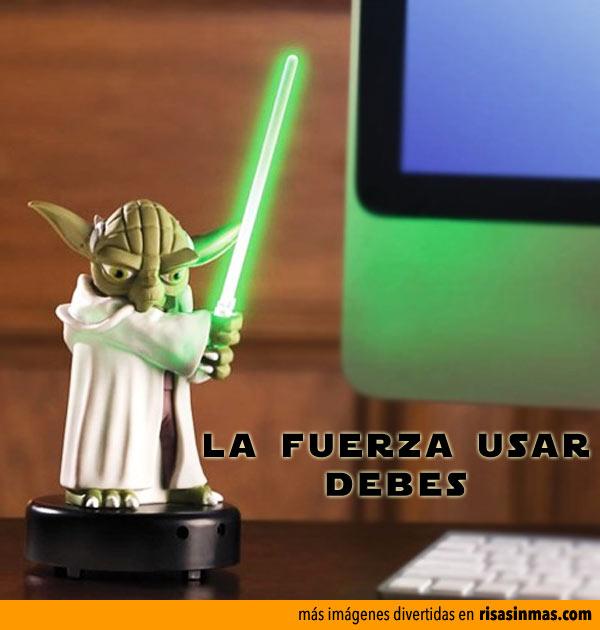 Protege tu escritorio con Yoda