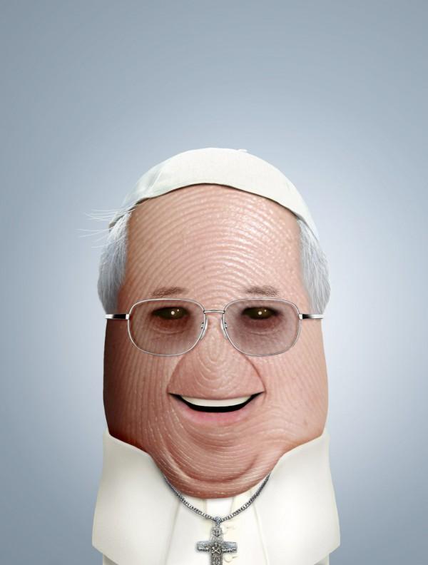 Pulgares célebres: Papa Francisco