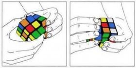 Solución al cubo de Rubik