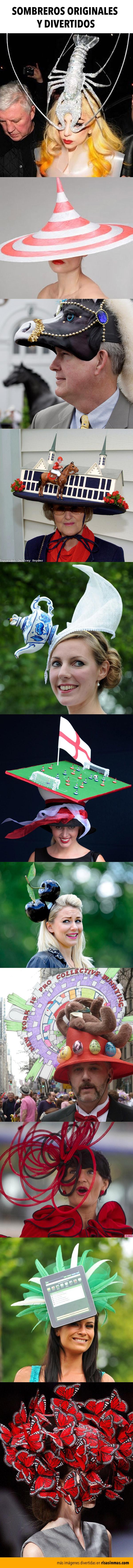 Sombreros originales y divertidos