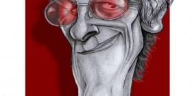 Caricatura de Luis Alberto Spinetta