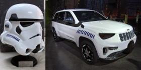 Parecidos razonables: Stormtrooper y Jeep