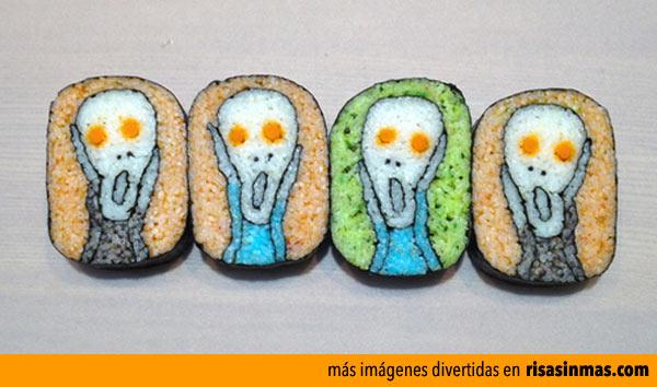 Sushi de El Grito