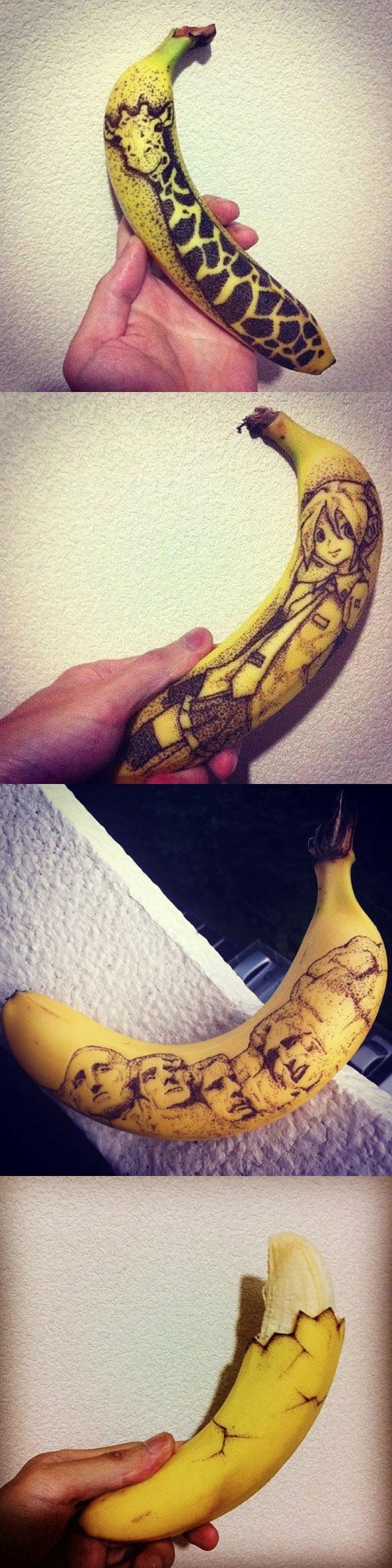 Tatuajes en plátanos