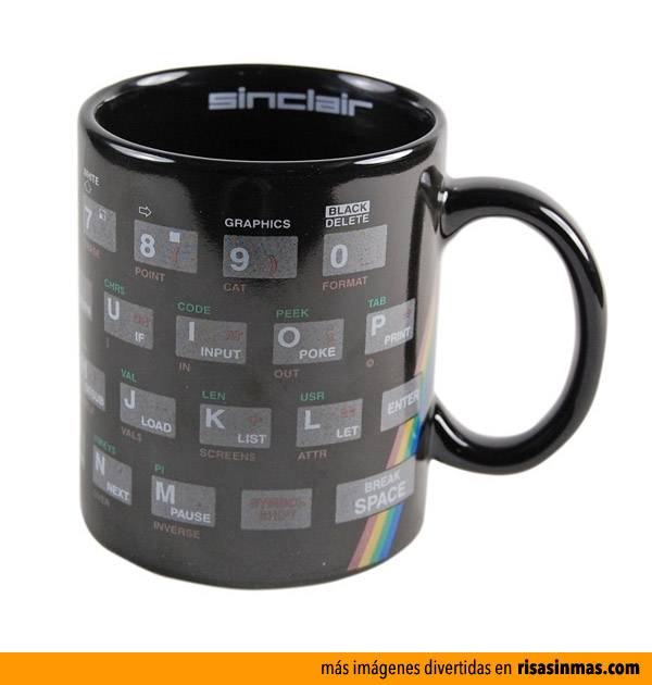 Taza Sinclair ZX Spectrum