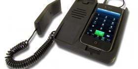 Teléfono fijo para iPhone 4