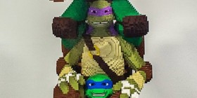 Tortugas Ninja hechas con LEGO
