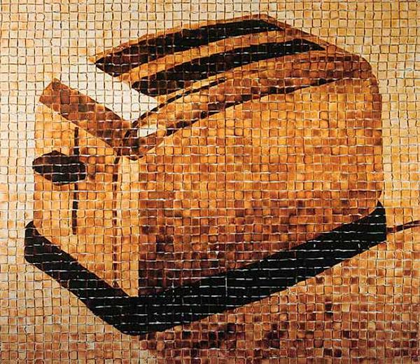 Tostadora hecha con tostadas