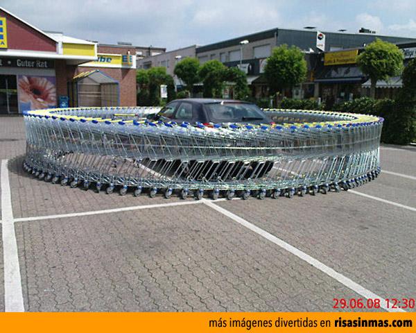 Tu coche en el supermercado