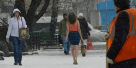 Una chica de Bilbao en Rusia