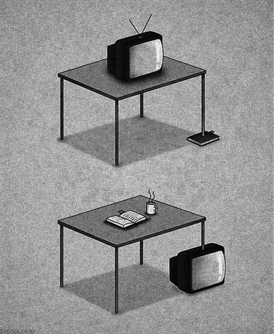 Usando bien el televisor