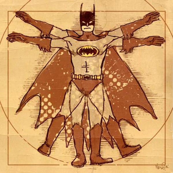Vitruvian Batman