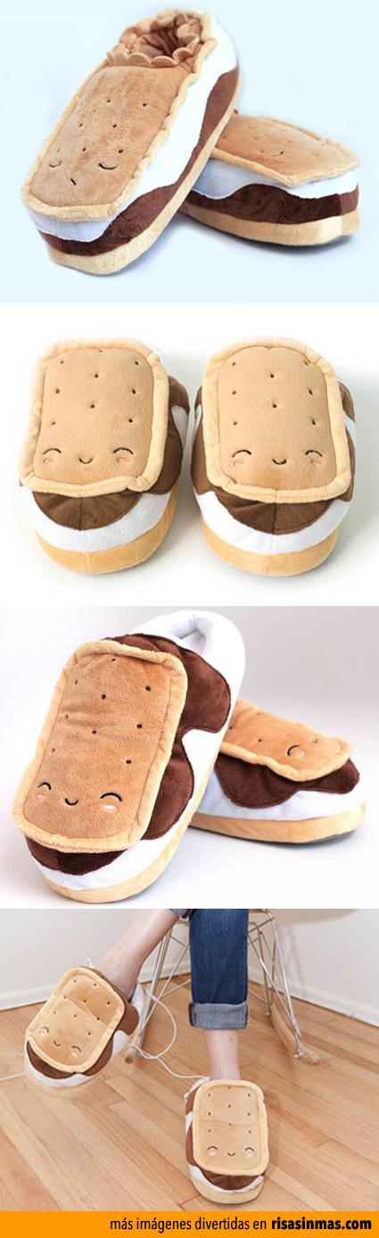 Zapatillas climatizadas Sándwich helado