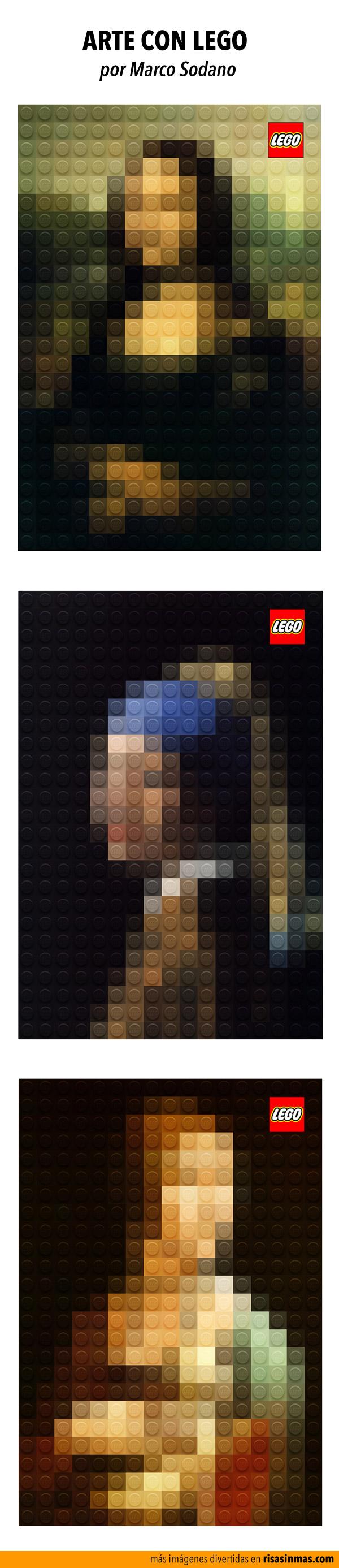 Arte con LEGO
