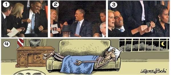 Barack, tú hoy duermes en el sofá