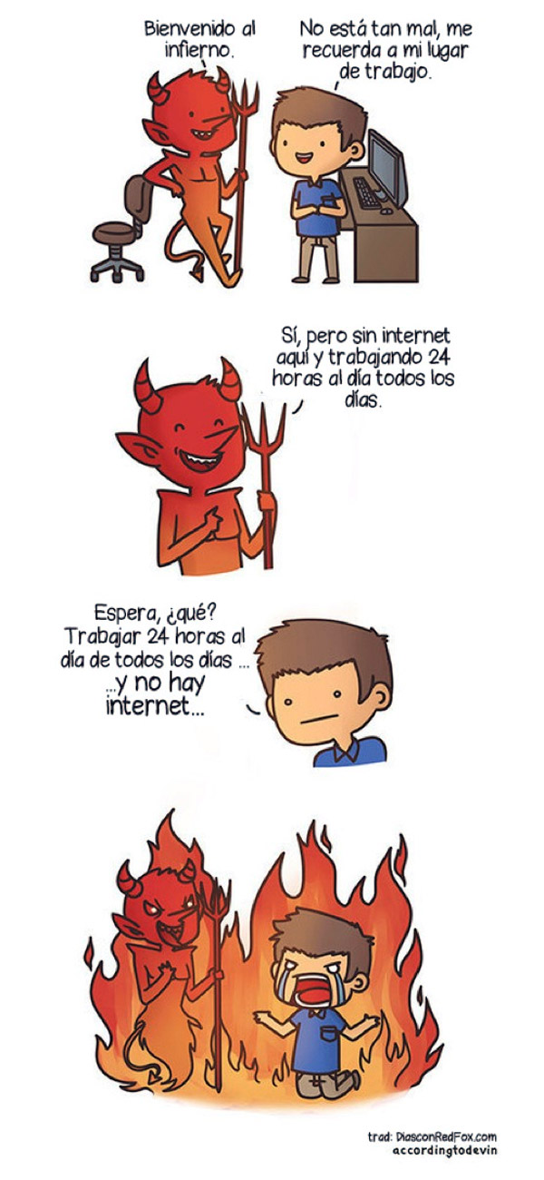 Bienvenido al infierno