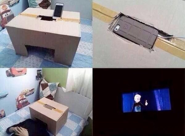Construye tu propio cine en casa
