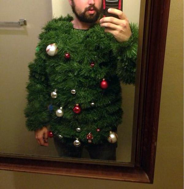Estas navidades disfrázate de árbol de navidad
