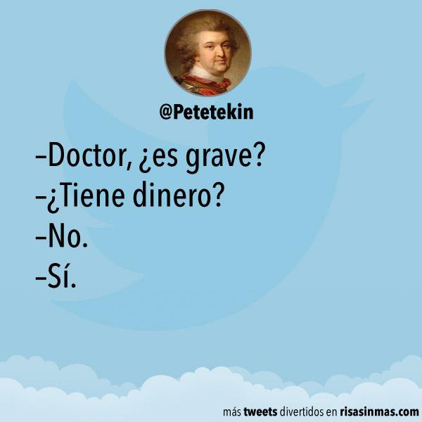 Doctor, ¿es grave?