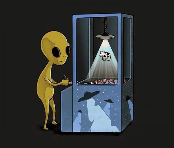 ¿A qué juega un extraterrestre?