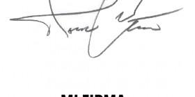 La firma de mi padre y la mía