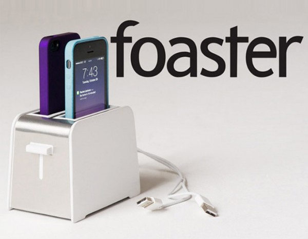 Foaster, original cargador múltiple para iPhone