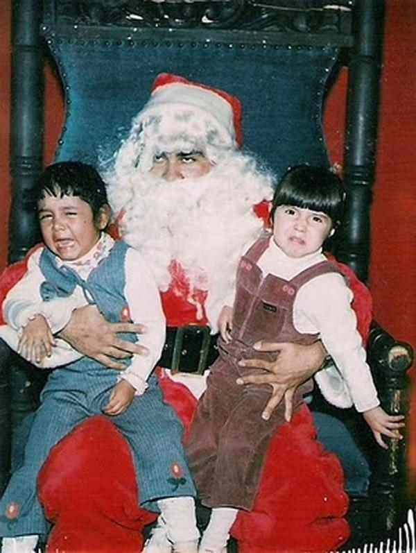 Papa Noel, amigo de los niños