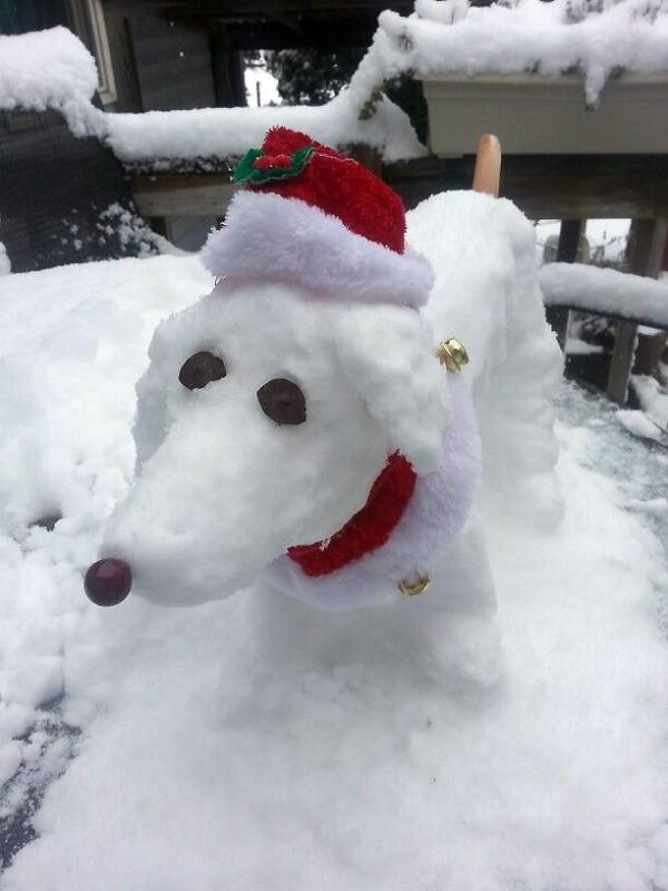Los muñecos de nieve están pasados de moda