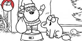 Simon's Cat: presencia de la Navidad