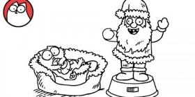 Simon's Cat: presencia de la Navidad (parte 2)