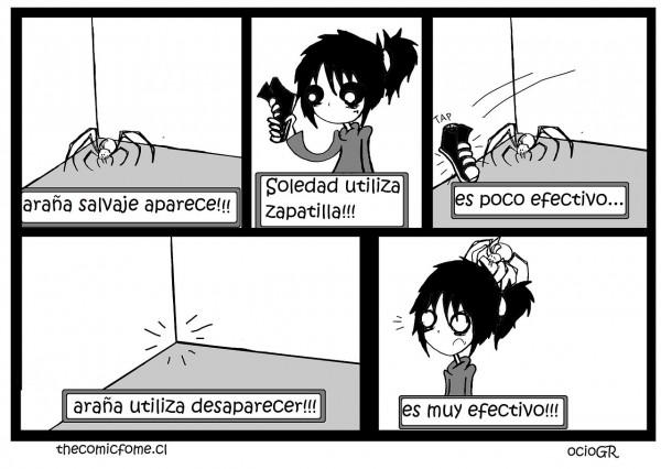 Soledad vs araña
