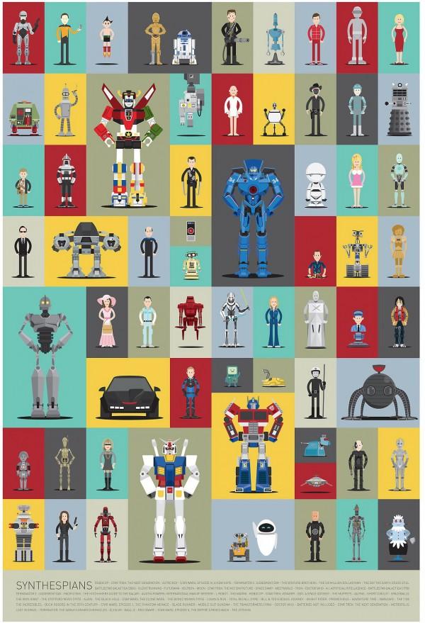 Los robots más famosos del cine y la televisión