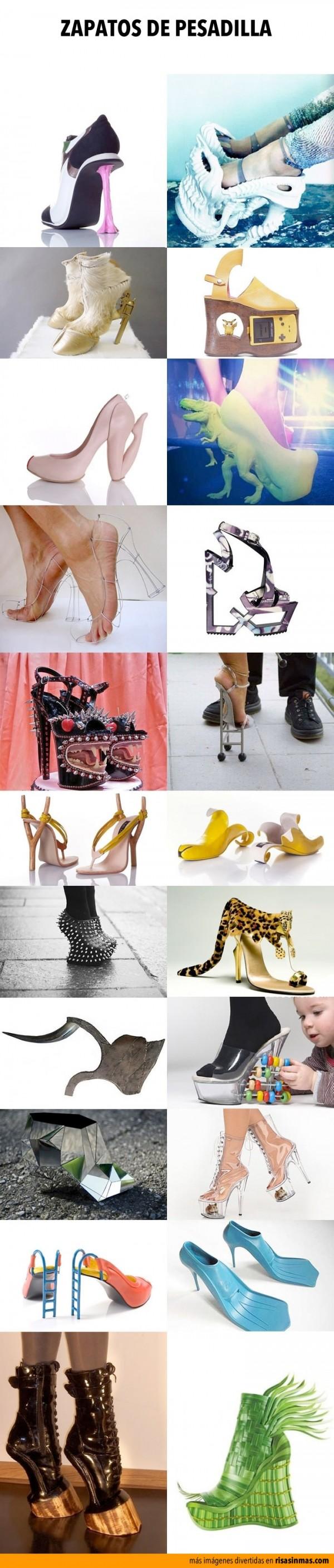 Zapatos de pesadilla