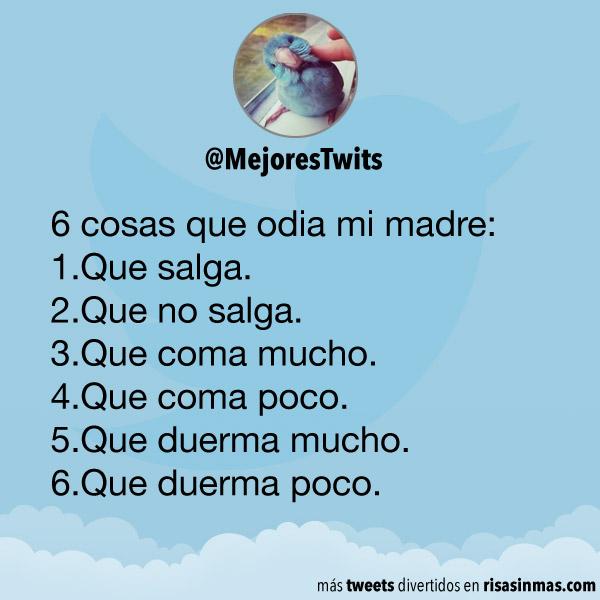 6 cosas que odia mi madre
