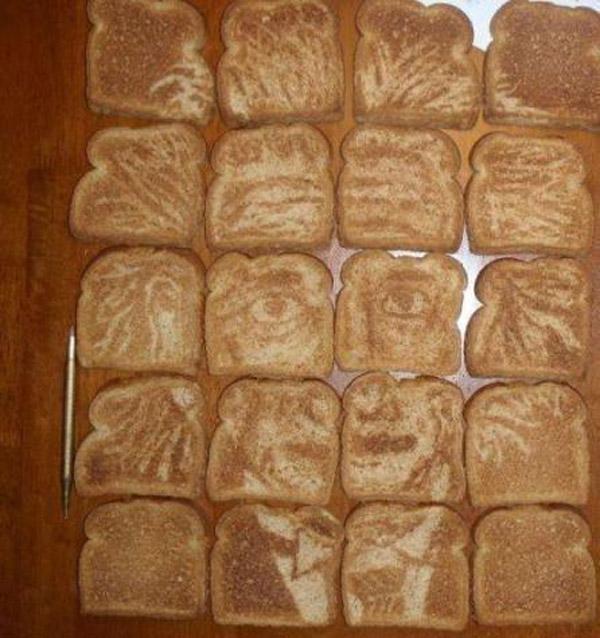 Albert Einstein en tostadas
