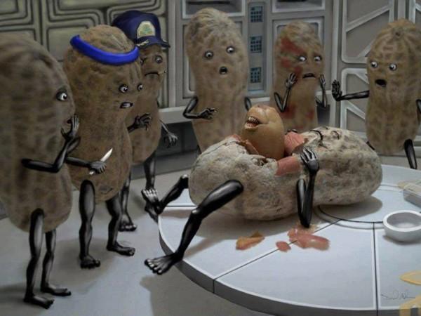 Alien 8 versión cacahuetes