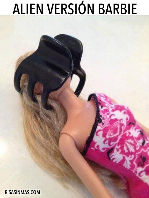 Alien versión Barbie
